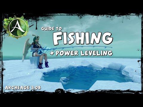 рыбная ловля в архейдже