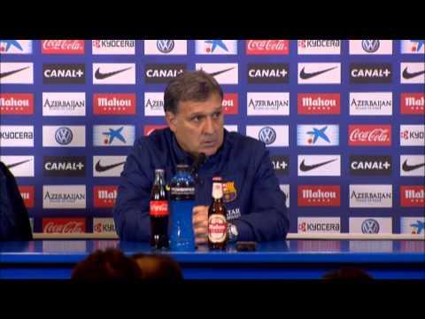 "Gerardo Martino: ""Lionel Messi und Neymar nicht fit genug"" | Atletico Madrid - FC Barcelona 0:0"