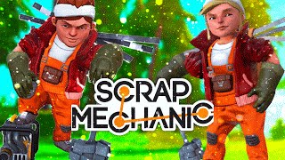 ОПАСНЫЙ DEATHRUN - Scrap Mechanic! (Угар,Эпик,Баги) #1