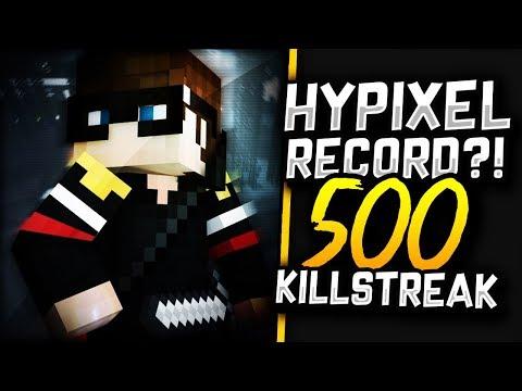 500 KILLSTREAK! (Minecraft PvP)