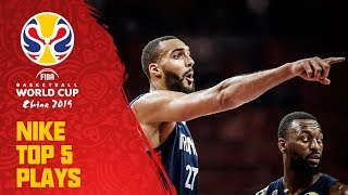 Nike Top 5 Plays | QF Day 2 w/ Gobert, Barnes & More! | FIBA Basketball World Cup 2019