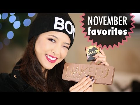 November 2013 Beauty Favorites!