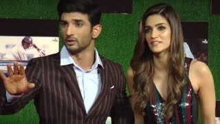 Angry Sushant Singh Rajput LOOSES HIS COOL, gf Kriti Sanon saves the day!