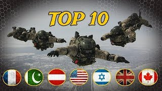 TOP 10 Most Dangerous Special Forces Around the World 2017