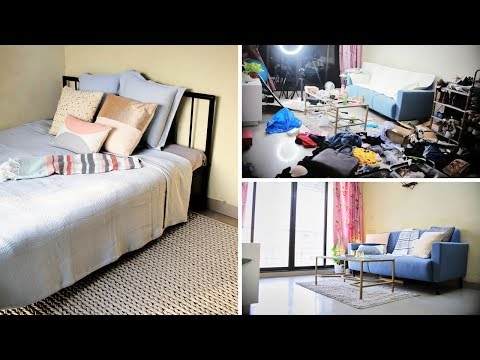 My Living Room & Bedroom Makeover & Tour