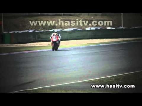 Michael Schumacher Brno auf Honda CBR 1000 RR Fireblade