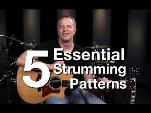 5 Essential Strumming Patterns - Beginner Guitar Lessons