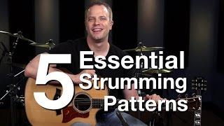 5 Essential Strumming Patterns Beginner Guitar Lessons