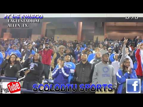 JOHN TYLER HIGH VS FRISCO RACOONS THE HALFTIME SHOW OF