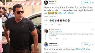 Fans Trolling Salman Khan For Race 3 | Latest Bollywood Movie Gossips 2018 English