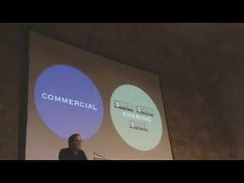 Lawrence Lessig Speech at iCommons Summit 2007 Music Videos