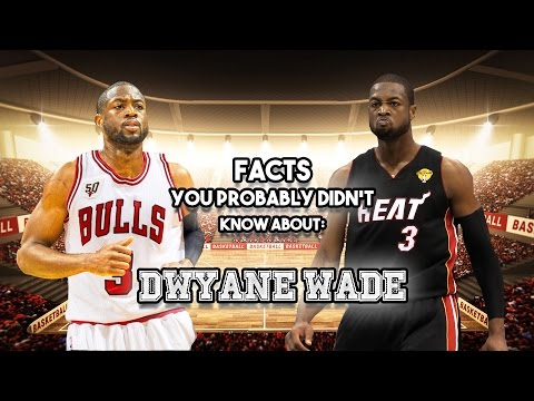 20 Facts You Probably Didn't Know About Dwyane Wade
