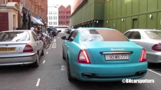 Turquiose Maserati QP LOUD Accelerations! HD