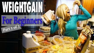 "Weight Gain For Beginners ""The Diet Plan"""