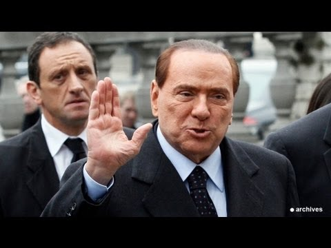 Berlusconi sentenced to jail for tax fraud