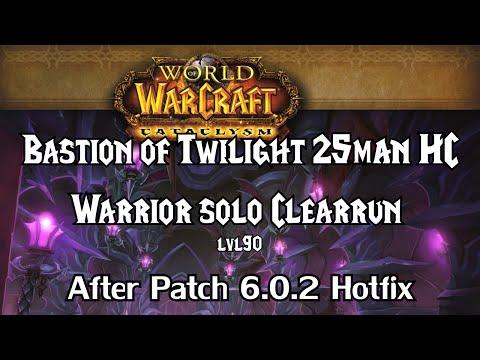 Warrior solo patchwerk 25 man heroic sinestra