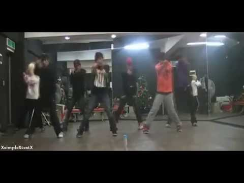 Infinite - BTD (Before The Down) Dance practice.
