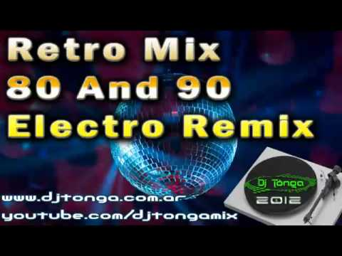 BEST RETRO DISCO MIX 80 AND 90 ELECTRO REMIX DJ TONGA  2 Music Videos
