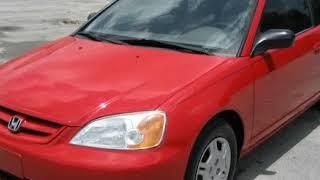 2002 Honda Civic 2dr Cpe LX Auto (Miami, Florida)