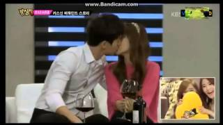 Jessica and Lee Dong Wook talk about their kiss scene
