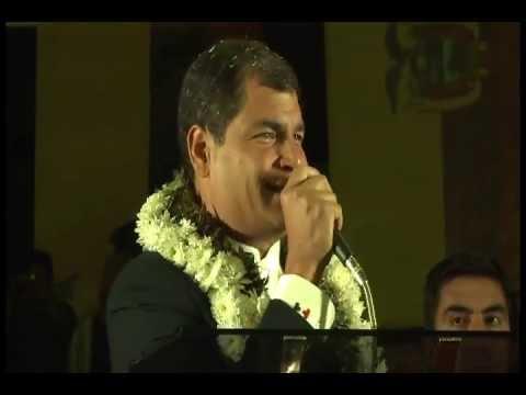 Discurso Presidente en Reunión con Organizaciones Sociales en Cochabamba - Bolivia