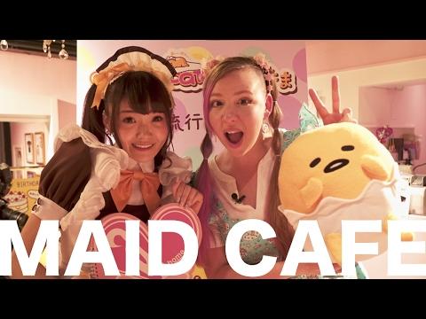 Notre premier café de servantes (ou «maid Café») thumbnail