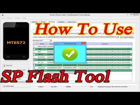 how to use sp flash tool   flash stock rom on any android device Future Solution