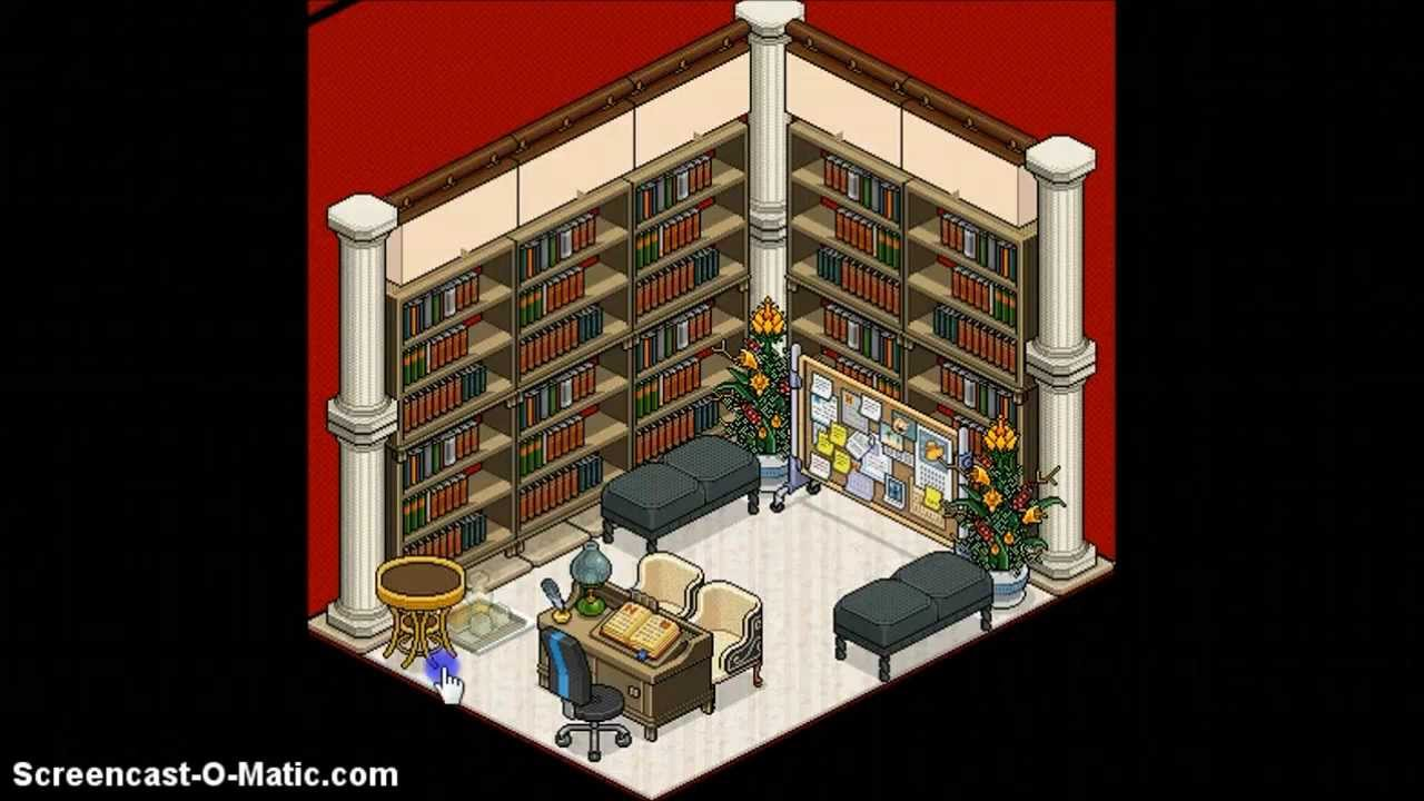 Building An Office Habbo Guestable Youtube