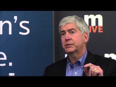 Ballot Bash: Gov. Rick Snyder interviewed by MLive Media Group Editorial Board