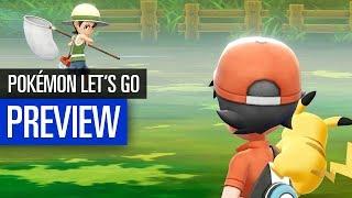 Pokémon Let's Go Pikachu! & Let's Go Evoli! PREVIEW / VORSCHAU