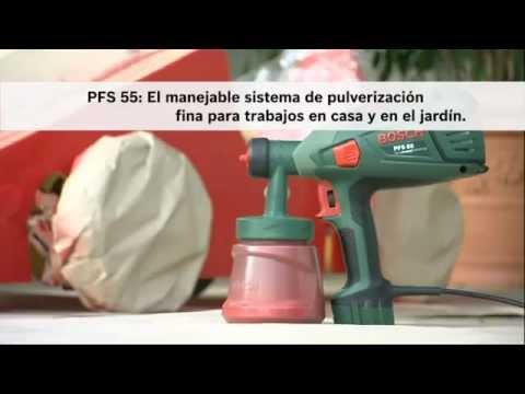 PISTOLA PINTAR ELECTRICA PFS 55 BOSCH