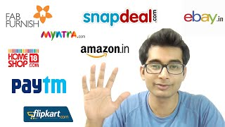 Save Money while shopping online in India