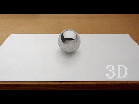 Видео как нарисовать мяч карандашом поэтапно