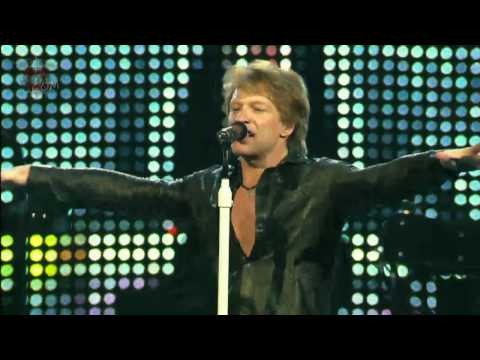 Bon Jovi - Bon Jovi - U give love a bad name (lyrics)