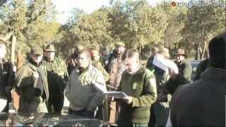 Caza mayor: montería riosecana en Quintanilla de Onésimo