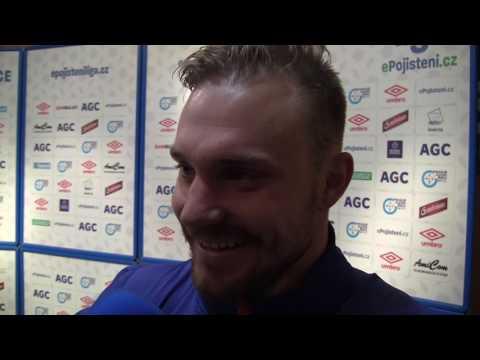 Rozhovory po utkání s Karvinou (22.4.2017)