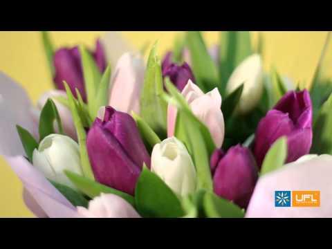 """Видео-обзор букета """"Весенний подарок"""" - SendFlowers.ua"""