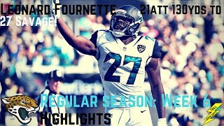 Leonard Fournette Week 6 Regular Season Highlights 27 Savage | 10/15/2017