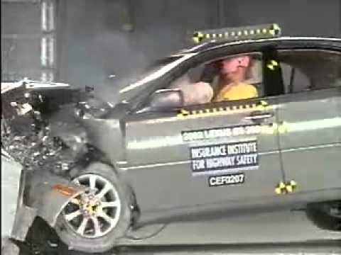 Vehicule  Crash Test 2002 - 2006 Lexus ES _ Toyota Windom-Extreme