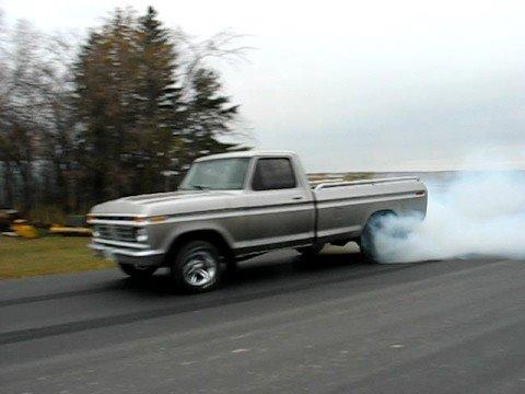 1977 F150 Burnout Youtube