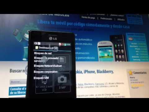 Liberar lg e510 optimus hub gratis desbloquear por imei - Movical net liberar ...