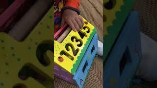 Review đồ chơi thông minh | bé học đếm số | Minh bon