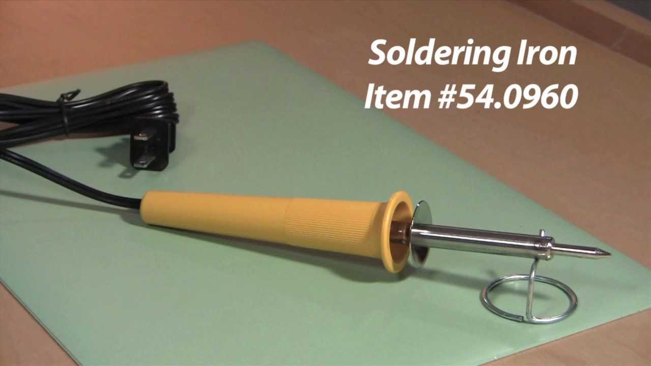 electric soldering iron for jewelry youtube. Black Bedroom Furniture Sets. Home Design Ideas