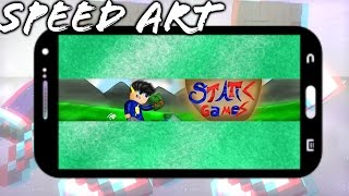★SPEED ART BANNER STATIC GAMES★ #27