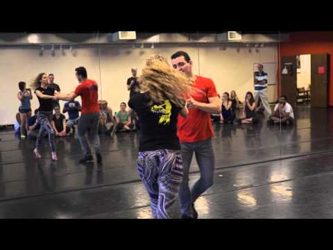 Alisson Sandi & Audrey Isautier Zouk Workshop in Atlanta - Zouk Body Movements