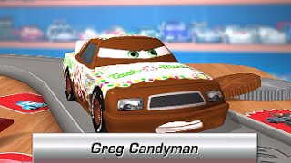 Cars Daredevil Garage GREG CANDYMAN - New Free game for Kids - iPhone iPad iOS/Android