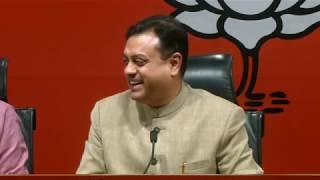 Media Briefing by Shri Sambit Patra at BJP Head Office, New Delhi