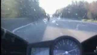 Yamaha R1 2001 at 305kph on public road