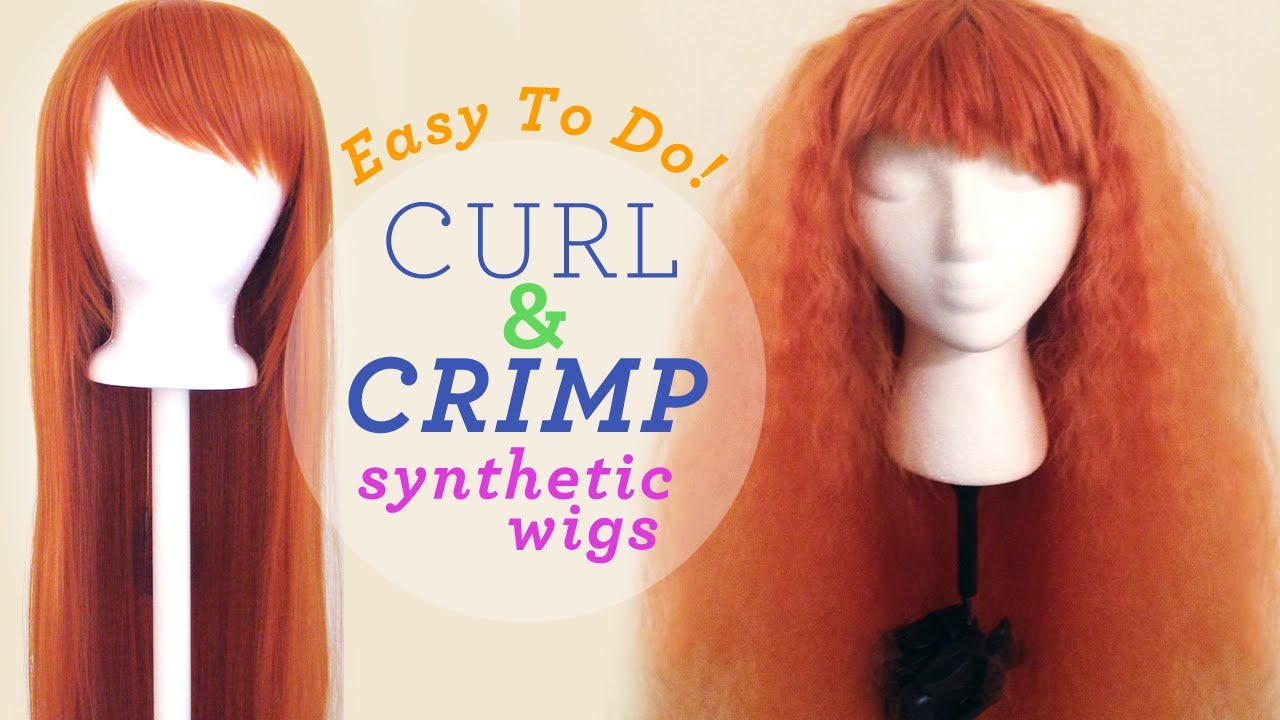 Synthetic Wig Styling 4