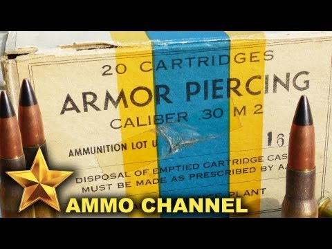 AMMOTEST: 30 Caliber M2 (30-06) Armor Piercing Penetration Tests - Military Surplus Ammo